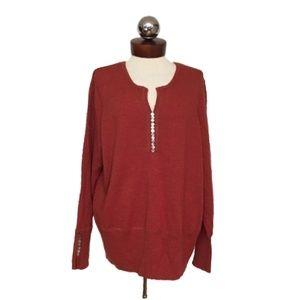 New Valerie Bertinelli Merino wool Sweater 3X plus